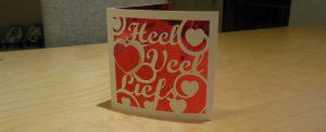 Last minute Valentijns kaart – Met gratis FCM file