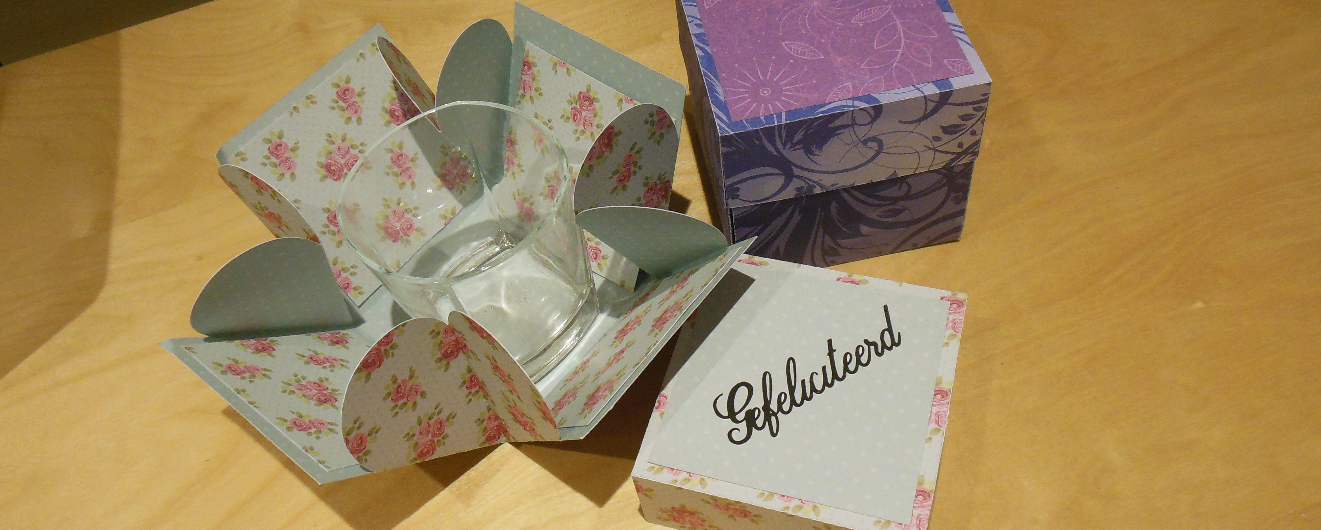 Doosjes parade – surprise box – Handleiding – Met gratis snij file