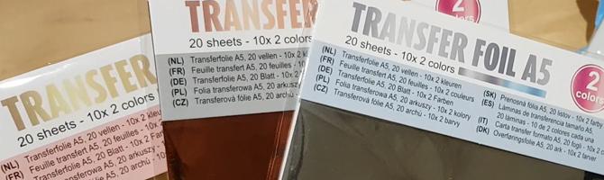 Transfer Foil van de Action – Product review