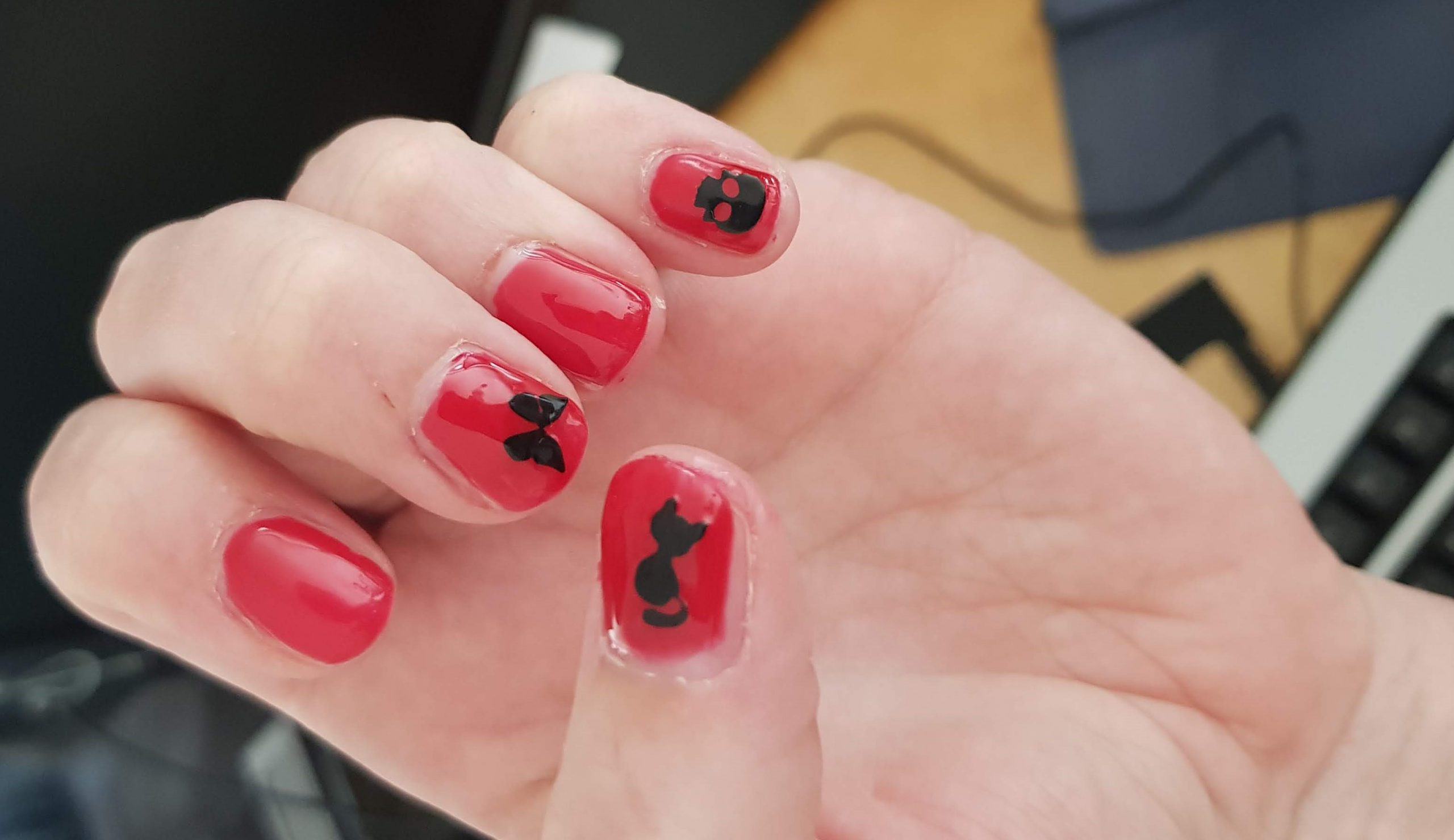 Icon plaatjes set voor op je nagels