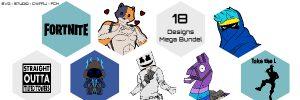 Alleen voor Leden – Mega Fortnite Bundel – Met 18 Designs