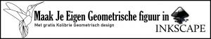 Maak je eigen Geometrische figuur met inkscape voor de Brother ScnaNcut of Silhoutte snijmachine