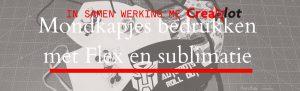 Mondkapjes bedrukken met Flex en sublimatie – Maak kans op 10 Euro te goed bon!