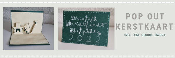 Lees meer over het artikel Pop out Kerstkaart 2022